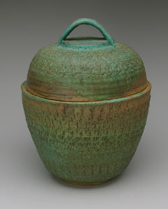 Grecian Jar With Lid